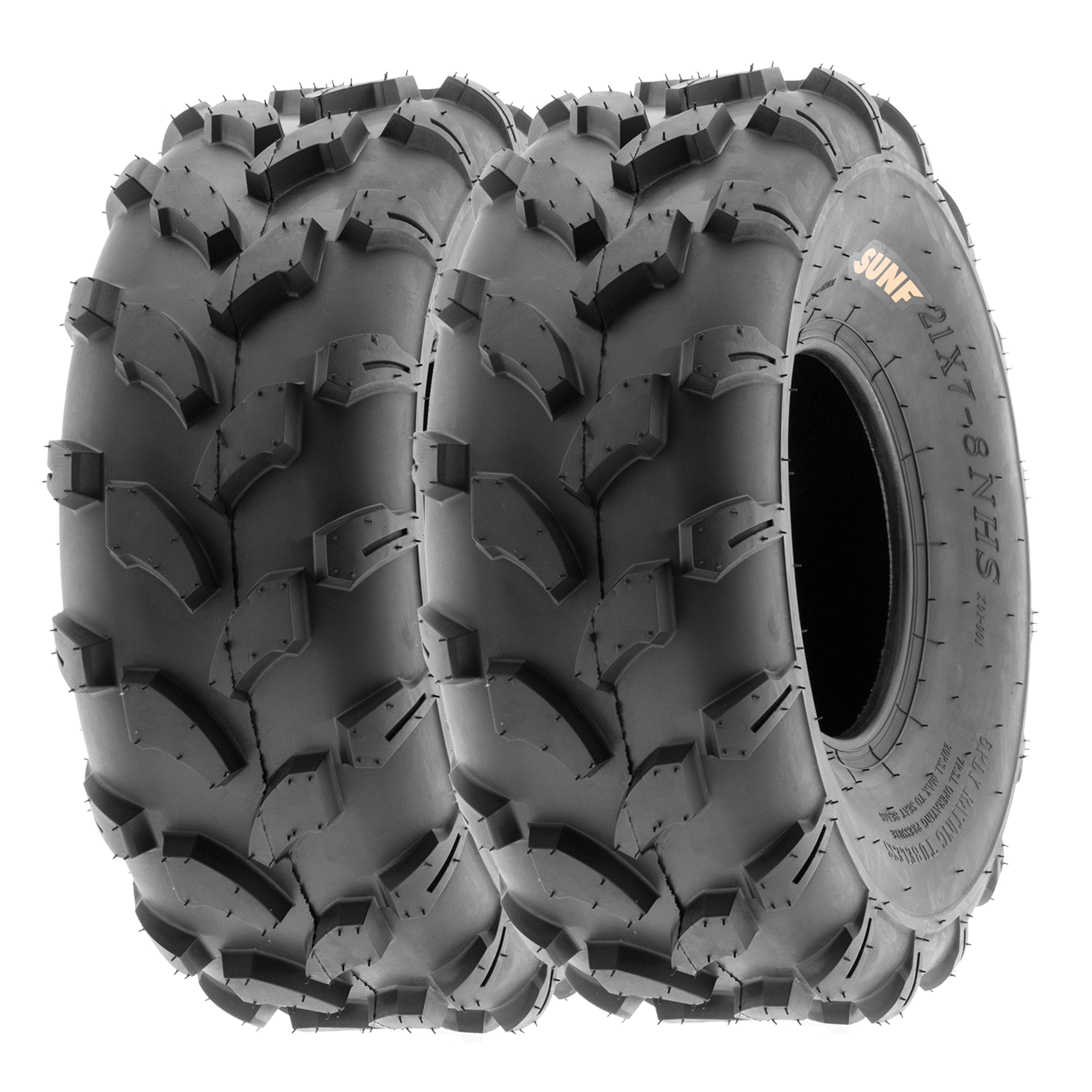 SunF 22x10-10 22x10x10 ATV UTV Sport Race Replacement 6 PR Tubeless Tires A021, Set of 2