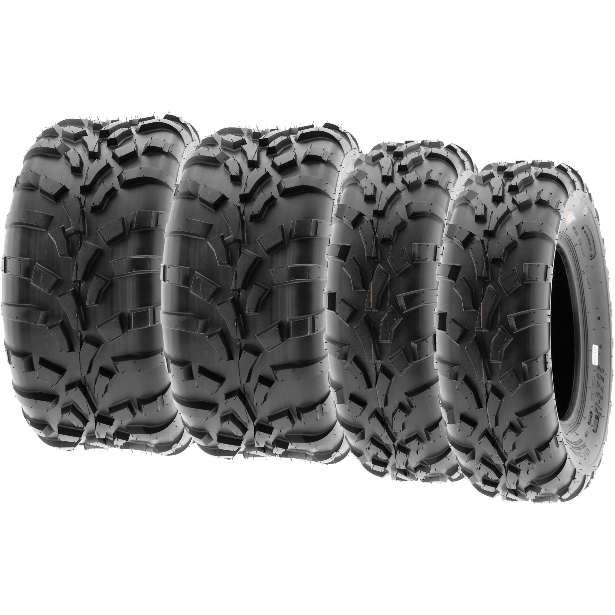 SunF 22x7-12 ATV UTV Tire 22x7x12  All Trail Replacement 6 Ply A033  POWER I