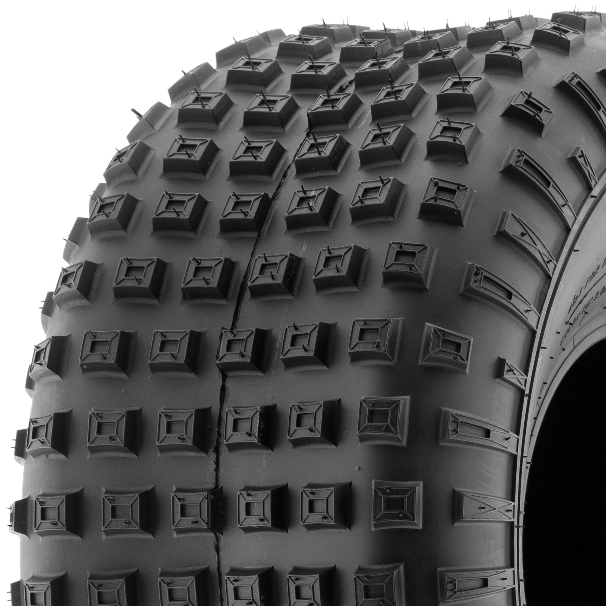 Set of 2 SunF 16x8-7 16x8x7 ATV UTV All Terrain Trail Replacement 6 PR Tubeless Tires A011,