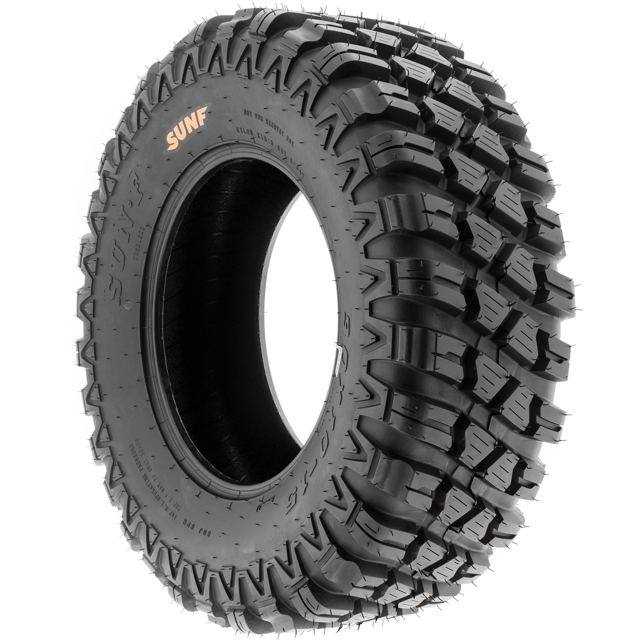 Single SunF A043  All Terrain ATV UTV Tubeless Tires